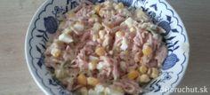 Domáci salámový šalát