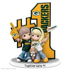 NFL-licensed figurine cheers on your love of football and each other. Handcrafted and hand-painted, official team logos and colors. Pittsburgh Steelers, Dallas Cowboys, Green Bay Logo, Steelers Gifts, Steelers Super Bowls, Green Bay Football, Couple Goals Cuddling, Nfl Football Teams, Precious Moments Figurines