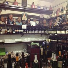 """""""Oldest wine bar in #Bologna"""" @ Osteria Del Sole by @ThePlanetD Travel... Buy food at the market and come here to eat it and drink. Closed Sunday. Open 8-2 and 7-11"""
