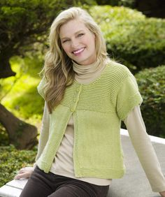First Sweater Knit-a-Long w videos | Simple Spring Swing Cardigan