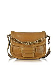Pierre Hardy - Alphaville Camel Grained Leather Shoulder Bag