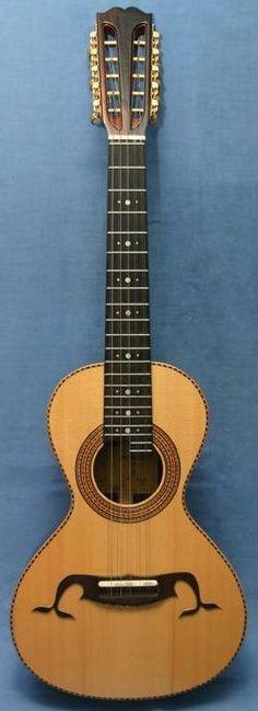ƒrettedchordophones:  Pepineli Luthier - Brazilian Viola ==2 years ago --- https://www.pinterest.com/lardyfatboy/
