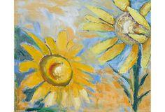 Bright Sunflowers on OneKingsLane.com