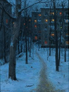 Evgeny Lushpin (oil on canvas)