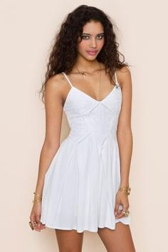 Every girl needs a little white summer dress