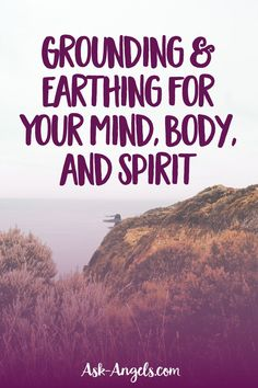 Grounding or Earthing is the process for reconnecting to the Earth. This connection to Earth balances your present moment awareness between body, mind, and spirit. Spiritual Path, Spiritual Guidance, Spiritual Growth, Spiritual Awakening, Grounding Exercises, Aura Colors, Angel Guide, Healing Light, Anxiety Causes