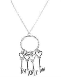 The Heart Keys Necklace necklace