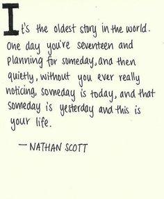 "Nathan Scott on ""Someday"""