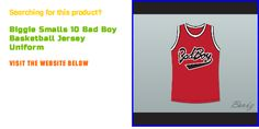 Do you want to buy Biggie Smalls 10 Bad Boy Basketball Jersey Uniform? Visit http://www.borizcustomsportsjerseys.com/Biggie-Smalls-10-Bad-Boy-Basketball-Jersey-New-p/biggie-smalls-10-red.htm