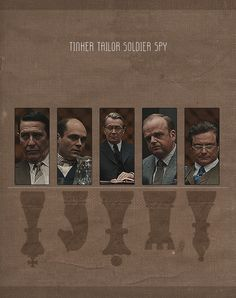 Tinker Tailor Soldier Spy Everything Film, Tinker Tailor Soldier Spy, Film Games, Love Film, Colin Firth, Cinema Film, Alternative Movie Posters, Iconic Movies, Movies Showing