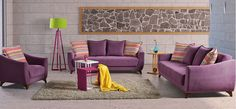 Great inspirations from wide range of living room suites. Suites include three seater, two seater and an armchair. Sofa, Couch, Armchair, Living Room, Inspiration, Furniture, Home Decor, Beauty, Sofa Chair