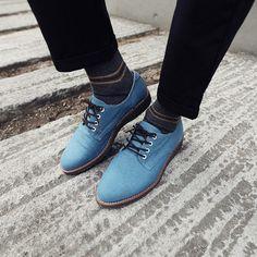 blue shoes for men