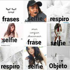 """114 curtidas, 8 comentários - Feed Inspiração (@feedinspiracao1) no Instagram: """"Mini feed branco esse é um exemplo pra quem pediu um feed com mais selfies. Lembrando que selfies…"""""""