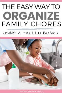 Organizing your family's household tasks can be a challenge- but this simple guide can make it easier! Learn how to better organize your family's chores with this simple system on the productivity app, Trello! It's not a chore chart or checklist or printable- it's a way to set up the chore list in the best way for YOUR family! #choresystem #kidschores #momorganization #momtips Chore System, Chore Board, Routine, Kids Schedule, Tired Mom, Chore List, Productivity Apps, Organized Mom, Family Organizer