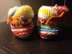 Balıklı patik/Fishy baby booties