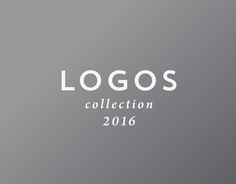"""Check out this @Behance project: """"LOGOS collection 2016"""" https://www.behance.net/gallery/42915187/LOGOS-collection-2016"""