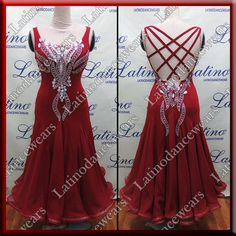 BALLROOM COMPETITION DRESS LDW (ST296B) BALLROOM-COMPETITION-DRESS-LDW-ST296B Latino Dancewears