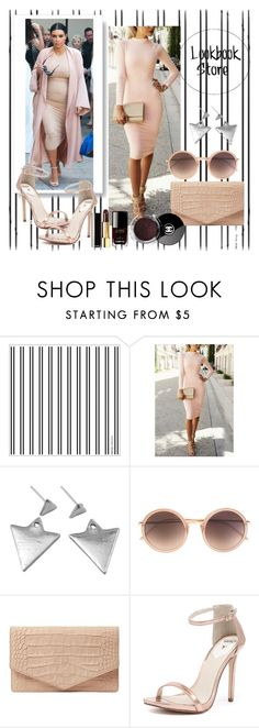 """Pull off that look: Kim Kardashian"" by lookbookstore ❤ liked on Polyvore featuring мода, Linda Farrow, Emily Cho, Windsor Smith и Chanel"