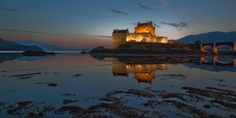 Eilean Donan castle in Scotland. I missed it the first time I was in Scotland