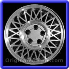 Ford Taurus 1986 Wheels & Rims Hollander #1475  #FordTaurus #Ford #Taurus #1986 #Wheels #Rims #Stock #Factory #Original #OEM #OE #Steel #Alloy #Used