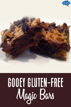 Need a yummy Valentine's Day treat that the kids will love and is an allergy-friendly recipe? Try this gluten-free recipe for ooey gooey Magic Bars on Valentine's Day!