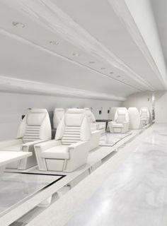 Concept store design for a plane Interior seller by Daphnis Fourrier _