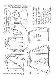 Fashion Diy Dresses Costura 46 Ideas For 2019 T Shirt Sewing Pattern, Pattern Drafting, Dress Sewing Patterns, Clothing Patterns, Sewing Lessons, Sewing Hacks, Fashion Sewing, Diy Fashion, Trendy Fashion