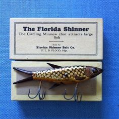 1920s Florida Shiner in the box.
