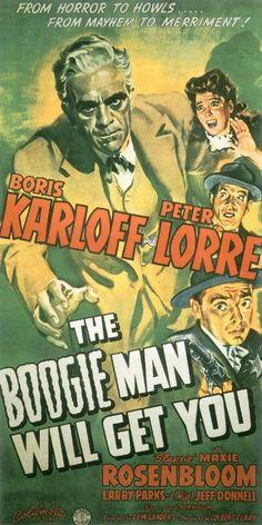 The Boogie Man Will Get You (1942) - Boris Karloff