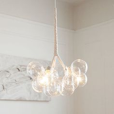 The Original Medium Bubble Chandelier