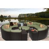 Found it at Wayfair - Barbados 11 Piece Seating Group with Cushion