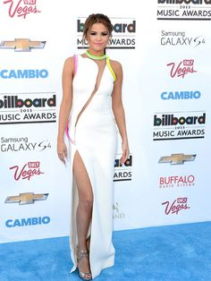 Cutout perfection on Selena Gomez. http://www.ivillage.com/best-and-worst-dressed-fashion-billboard-music-awards/1-a-536677