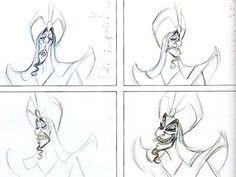 Aladdin (1992) Disney - Concept Art | 130 фотографий