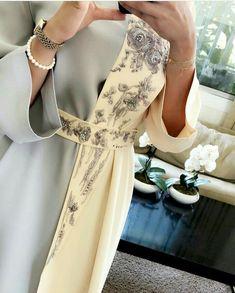 Dress brokat muslimah hijab fashion 22 trendy Ideas Source by sajjalraja Arab Fashion, Muslim Fashion, Modest Fashion, Fashion Dresses, Sporty Fashion, Fashion Women, Abaya Mode, Mode Hijab, Hijab Dress