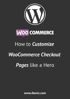 Learn how to customize WooCommerce, a WordPress plugin, Checkout Pages. Portfolio Website Design, Website Design Layout, Website Design Inspiration, Web Design, Learn Wordpress, Wordpress Plugins, Ui Kit, Digital Marketing Strategist, Ecommerce Website Design