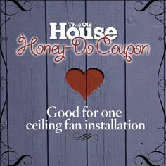 When things heat up, you'll need that ceiling fan you've been promising to install since last summer. Here's how to choose and install one. | Illustration: Douglas Adams | thisoldhouse.com