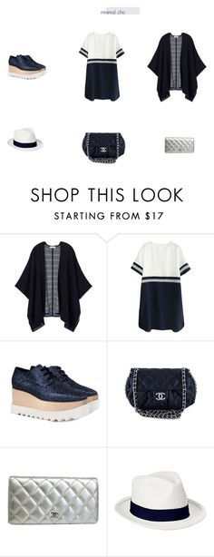 """minimal"" by rosannaradicci ❤ liked on Polyvore featuring Tory Burch, STELLA McCARTNEY, Chanel and Old Navy"