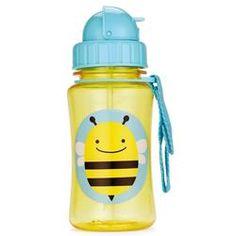Skip Hop Zoo Flip Straw Bottle Bee