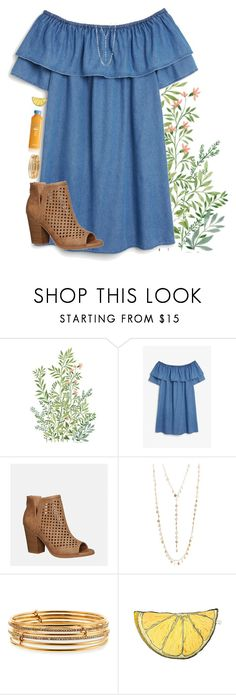 """-Only miss the sun when it starts to snow-"" by lindonhaley ❤ liked on Polyvore featuring Monki, Avenue, Natasha, Kate Spade and Silken Favours"