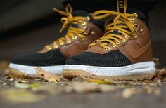 Nike Lunar Force 1 Sneakerboot British Tan