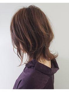 ミディアムウルフ/ALLURE hair ~elfi~梅田茶屋町店【アリュールヘアチャヤマチ】をご紹介。2019年春の最新ヘアスタイルを300万点以上掲載!ミディアム、ショート、ボブなど豊富な条件でヘアスタイル・髪型・アレンジをチェック。 Choppy Bob Hairstyles, Cute Hairstyles, Hair Inspo, Hair Inspiration, Medium Hair Styles, Short Hair Styles, Hair Color Streaks, Grunge Hair, Love Hair