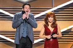 Blake's impersonation of Taylor Swift's shocked face when she wins an award. Oh how I love him!