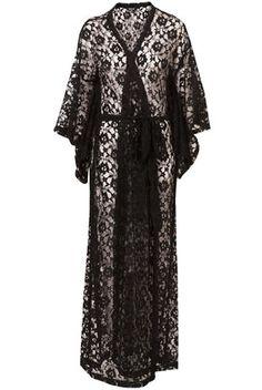 Love the kimono lace