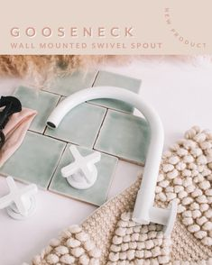 Have you seen our new Gooseneck Wall Mounted Swivel Spout yet 🎉  This versatile and beautiful spout is the perfect solution to your bathroom and laundry needs   With it's smooth adjustable swivel feature, it allows you to adjust the position to provide you with free access to your bathtub or sink 👏🏼
