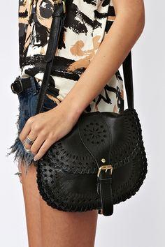 Sierra Crossbody Bag in Black