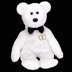 Mr. the groom bear, Beanie Baby