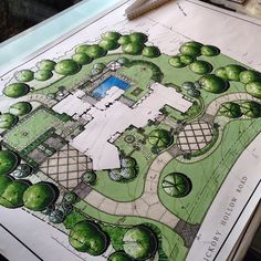 Presentation ready! #landscapearchitecture #masterplan #design #drawing #marker #color #ARQSKETCH
