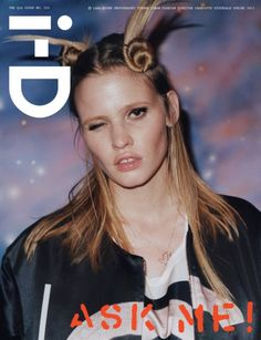 global platform for emerging talent, i-D celebrates fashion, culture, individuality and youth. The Q+A Issue No. 324 Spring 2013 Lara Stone by Charlotte StockdaleThe Q+A Issue No. 324 Spring 2013 Lara Stone by Charlotte Stockdale Lara Stone, Id Cover, Cover Pics, Karlie Kloss, Diane Kruger, Kate Moss, Id Magazine, Magazine Covers, Magazine Editorial