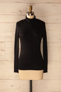 Dendro Orage - Black turtleneck sweater