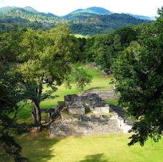Pirámide Maya Copán, Honduras